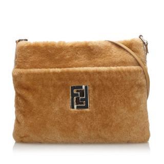 Fendi Wool Cross Body Bag
