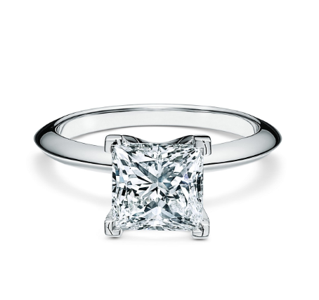 Tiffany & Co. Princess Cut Diamond Ring