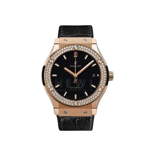 Hublot Classic Fusion King Rose Gold Diamonds 38mm Watch