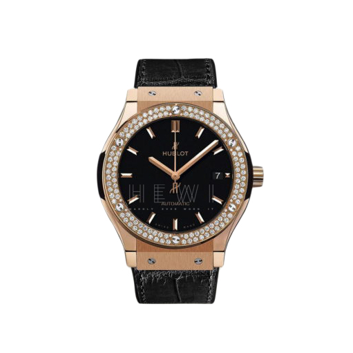Hublot Classic Fusion King Rose Gold Diamonds 38mm Watch