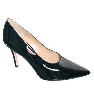 Gianvito Rossi Black Patent Pumps