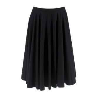 McQ Black Mock Petticoat Skirt
