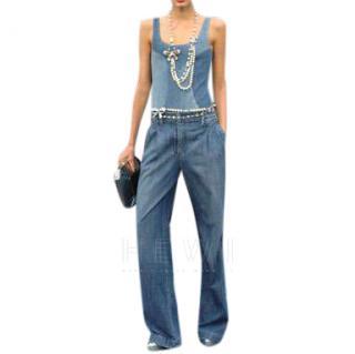 Chanel Wide Leg Runway Jeans