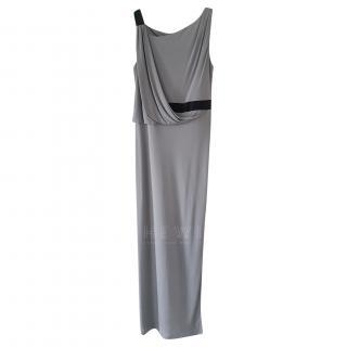 Ossie Clark Grey Draped Gown