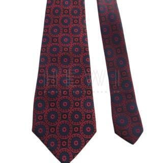 Stefano Ricci Handmade Silk Printed Tie
