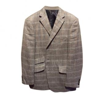 Gives & Hawkes wool/silk/linen blend sports blazer