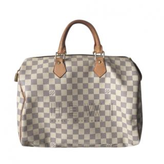 Louis Vuitton Damier Speedy Azur 35
