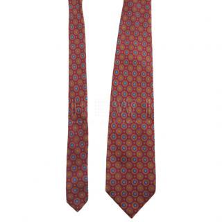 Stefano Ricci handmade multi colour folly silk tie