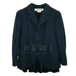 Comme Des Garcons grey wool blazer