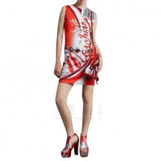 Moschino Couture Drink Moschino Dress