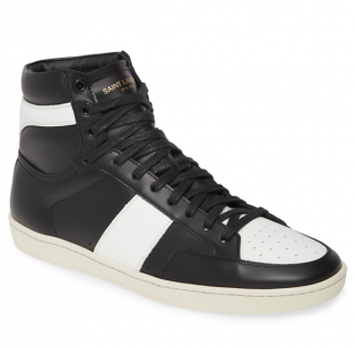 Saint Laurent Sl/10H Signature Court Classic High Top Sneakers
