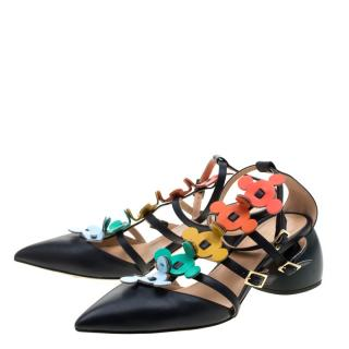 Anya Hindmarch multi coloured  cage sandals