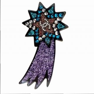 Chanel shooting star brooch