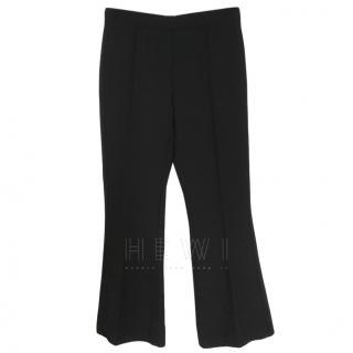 Max Mara Black Bootcut Trousers