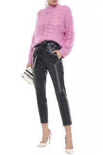 Iro Instinct Leather Tapered Trousers