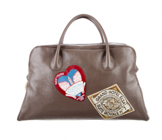 Schiaparelli Taupe Souvenir Weekend Bag