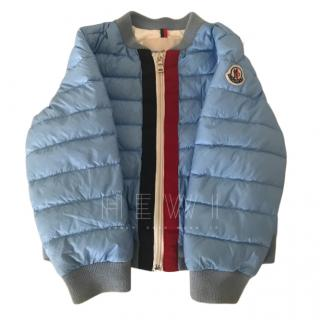 Moncler Kid's 3 Years Baby Blue Padded Jacket