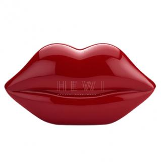 Lulu Guinness Women's Lips Perspex Clutch