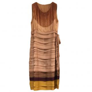 Missoni Knit Embellished Sleeveless Dress