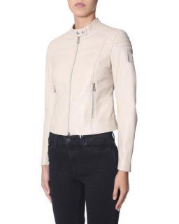 Belstaff Ash Rose 'Mollison' Leather Jacket