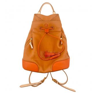 Tod's Camel Leather BackPack