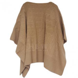 Polo Ralph Lauren Camel Beige Poncho