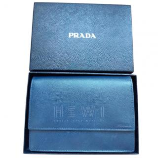 Prada Navy Saffiano Men's Wallet