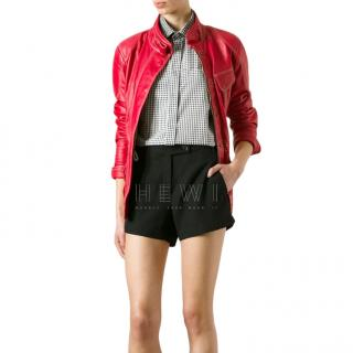 Matchless Red Leather Notting Hill Jacket