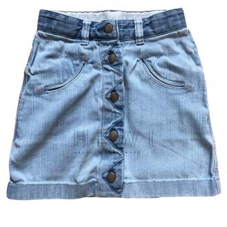 Stella McCartney girls denim skirt