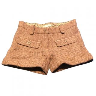 Marie Chantal Tweed Shorts