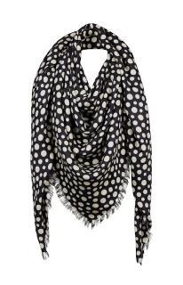 Louis Vuitton x  Yayoi Kusama wool & Cashmere polka dot scarf