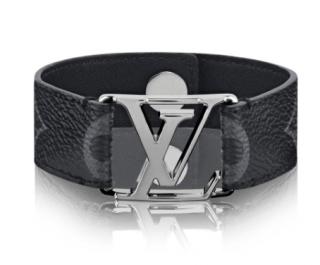 Louis Vuitton Damier Ebene Hockenheim Bracelet