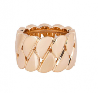 Cartier Rose Gold Link Ring