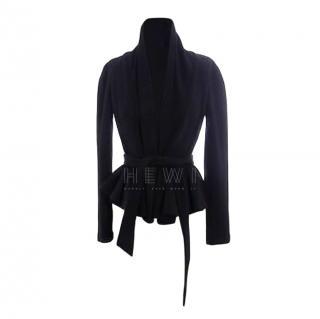 Diane Von Furstenberg Charleville Peplum Wool Jacket