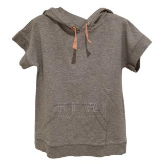 Marie Chantal girls short sleeve hoodie