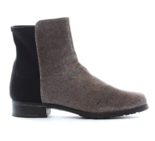 Stuart Weitzman two-tone ankle boots