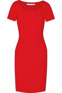 Diane Von Furstenberg Red Bevina Shift Dress