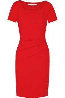 Diane Von Furstenberg Red Bevina Shift Dress