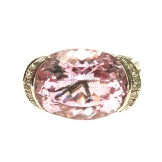 Bespoke Morganite & Diamond Cocktail Ring