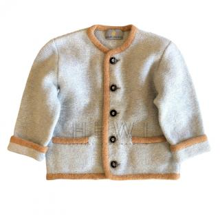 Mirabell Salzburg girls 4 years knit wool cardigan