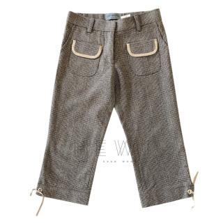 Simonetta tweed girls 7 years trousers
