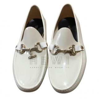 Vivienne Westwood White PVC Loafers