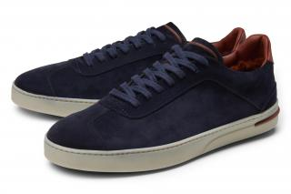 Loro Piana '70'S Walk' navy sneakers
