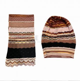 Missoni Fine Knit Hat & Scarf