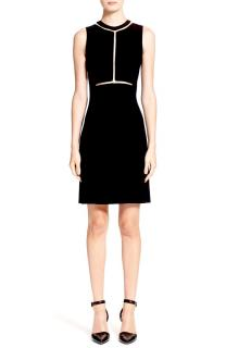 Alexander Wang Onyx Black Fitted Dress
