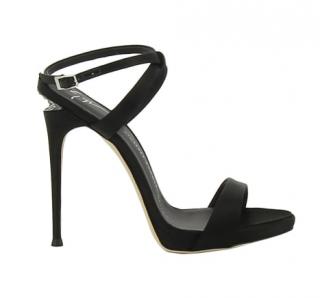 Giuseppe Zanotti Coline Satin Embellished Sandals