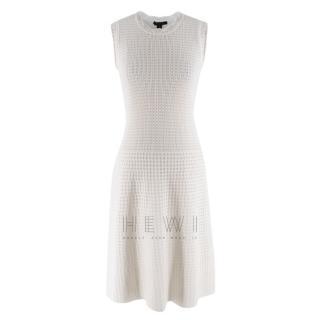 Louis Vuitton Cream Sleeveless Knit Dress