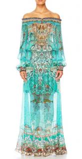 Camilla The Spirit Within Off Shoulder Shirred Dress