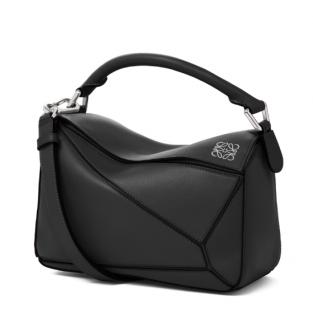 Loewe Small Black Puzzle Bag