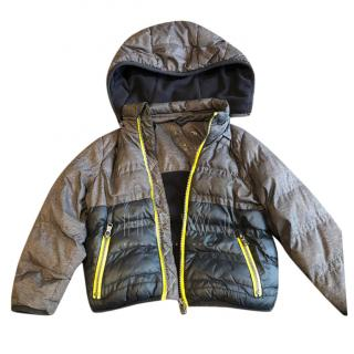 Michael Kors Boys Kids Hooded Camo Puffer Jacket